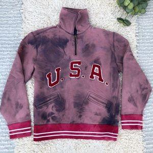Vintage Polo Ralph Lauren USA upcycled sweatshirt